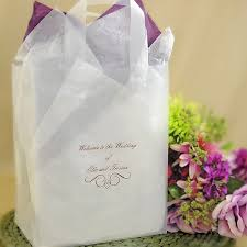 welcome wedding bags 8 x 10 custom printed frosted poly welcome bags set of 25