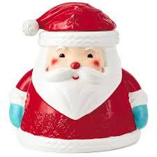 sweet santa cookie jar kitchen accessories hallmark
