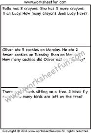 subtraction word problems subtraction word problems free printable worksheets worksheetfun