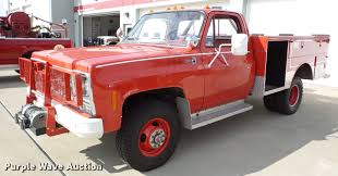 jeep fire truck for sale 1979 gmc sierra 35 fire truck item da2895 sold november