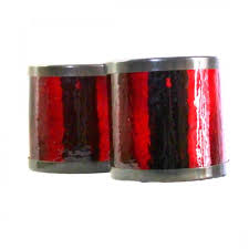 Wall Candle Sconces With Glass Wall Sconce Candle Holder Crackled Red Glass Just For You Baby
