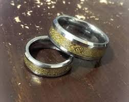 couples wedding rings images Couple wedding bands etsy jpg