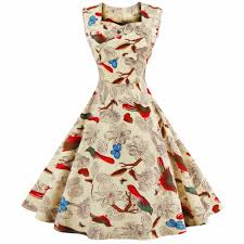 high quality 50s swing dress pattern promotion shop for high