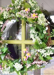 spring wreaths for front door simple spring wreath jenna burger