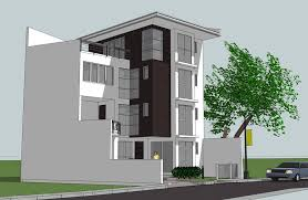 3 storey house 2011 3 storey house w roof deck scheme 2 by rjdalmacio on deviantart