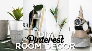Diy Bedroom Decor by Diy Pinterest Inspired Room Decor Minimal U0026 Simple Imdrewscott