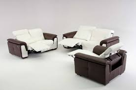 Simple Leather Sofa Set Sofa View Modern Leather Sofa Recliner Style Home Design Top In
