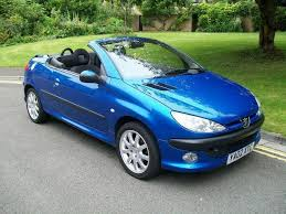 blue peugeot for sale used peugeot 206 2002 petrol 2 0 se 2dr convertible blue manual for