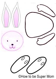 rabbit template free download clip art free clip art on