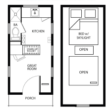 Traditional Floor Plan Modern U0026 Traditional Tiny House Plans Time To Build