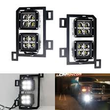 2015 dodge ram 1500 tail light bulb replacement ram 1500 80w high power cree led fog lights