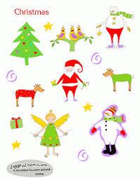 printable christmas cards to make christmas stickers to print ziggity zoom