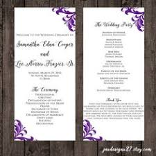 Wedding Ceremony Program Template Word Free Wedding Program Templates And Ideas Team Wedding Blog