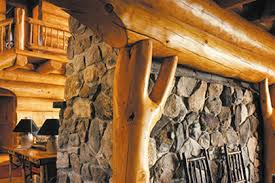 wood home interiors log homes interior finishes the sansin corporation