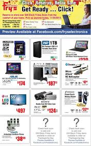 fry s black friday sale ad scans the official frys black friday and cyber monday www