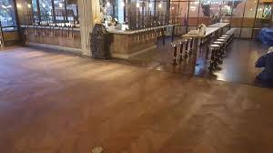 Commercial Wood Flooring Commercial Hardwood Flooring Project At The Hard Rock Casino