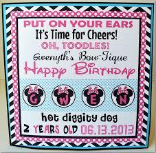 minnie mouse birthday party laurel lane