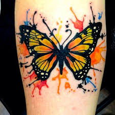 watercolor butterfly tattoos on forearm photo 4 2017 photo