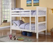 White Wooden Bunk Bed Fascinating Bedroom Design And Decoration Using Light Yellow