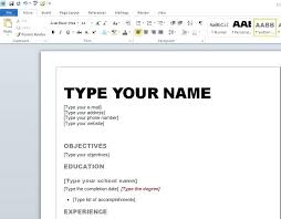 resume ms word format resume formatting microsoft word format best word office images on