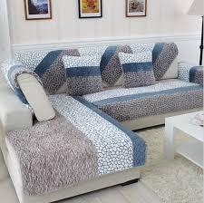 Modern Sofa Slipcovers Big Deal 1 Fleeced Fabric Sofa Cover European Style Soft