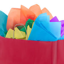 tissue paper colored tissue paper gift wrap tissue paper