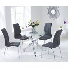 Glass Dining Table Sets Dining Room The Glass Table And Chairs Set Sl Interior Design With