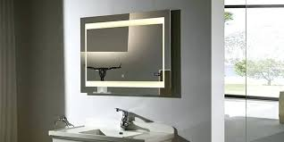 Bathroom Mirror With Built In Light Bathroom Mirror With Lights Built In Designer Bathroom Mirror With