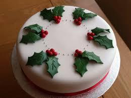 fresh christmas cake decoration ideas decoration idea luxury