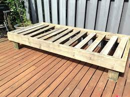 how to make a daybed frame leather daybeds with trundle my diy daybed made of reclaimed wood