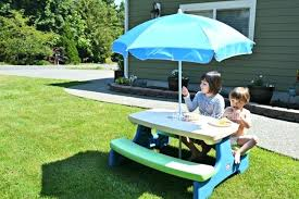 little kids picnic table little tikes picnic table with umbrella kids picnic sgmun club