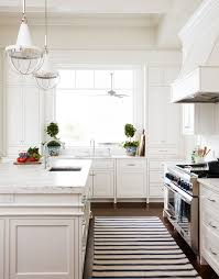 Black Kitchen Rugs Adorable Kitchen Black And White Runner Design Ideas In Rugs