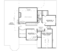 How To Draw House Plans On Computer by Traditional Style House Plan 4 Beds 3 00 Baths 2955 Sq Ft Plan