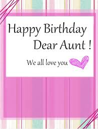 39 lovely aunt birthday wishes greetings u0026 pictures picsmine