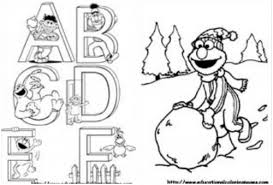 sesame street characters coloring pages sesame street