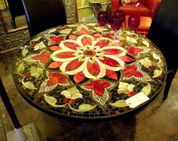 mosaic home decor mosaic dining room table interior design