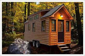 incridible wooden cabin small houses on wheels added dark half