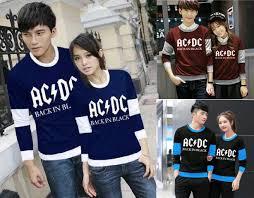 Baju Ac Dc sweater 篏 lp acdc nevi maroon hitam 窶 grosir baju
