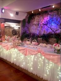 quinceanera decorations pink and gold quinceanera decoration oosile