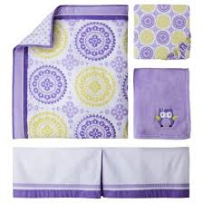 Circo Owl Crib Bedding Circo 4pc Crib Bedding Set Purple Medallion Bed Sets Crib And