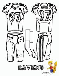 best nfl coloring pages image gallery baltimore ravens coloring