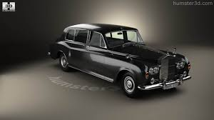 rolls royce classic phantom 360 view of rolls royce phantom park ward limousine 1963 3d model