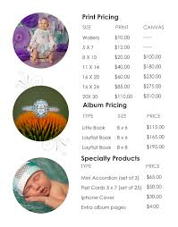 print pricing guide melissa mccann photography