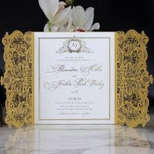 Gold Foil Wedding Invitations Gold Foil Wedding Invitations Exquisite Designs