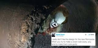 Pennywise The Clown Meme - clown of the day twitter is laughing at pennywise s new look in