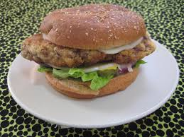chicken fried steak sandwich 4 steps with pictures