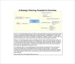 strategic plan template u2013 15 free word pdf documents download