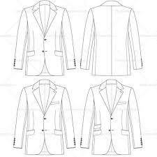 drawn coat mens suit pencil and in color drawn coat mens suit