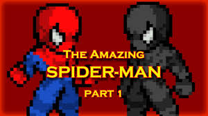 the amazing spider man part 1 sprite animation youtube