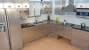 modern kitchen cabinets metal metal kitchen cabinets review the kitchen